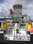 Dive shop in the British Virgin Islands