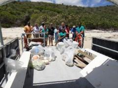 BEYC beach clean up