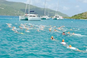 Swimming in the BVI